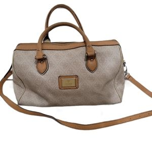 Guess Crossbody Monogram Satchel Handbag